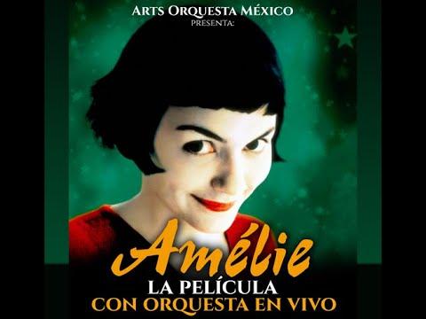 La película Amélie con Orquesta en Vivo ¡Espectacular!