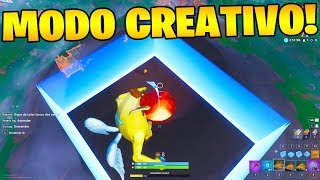 NEW BUG TO HAVE CREATIVE MODE IN FORTNITE SEASON MAP 8!! 😱🔥