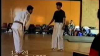 Tom Hill's Karate Dojo; 1990 SHODAN GRADING KUMITE & WRESTLING