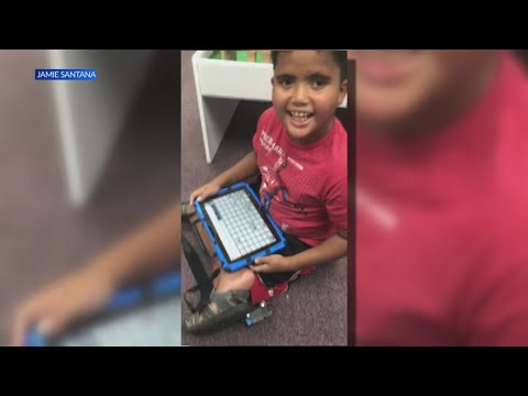 Fayetteville community steps in to help family after son's communication device stolen