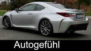 Lexus RC F 5.0 l V8 Sound & Acceleration 0-100 0-200 km/h 0-60 0-125 mph - Autogefühl