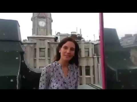 """Наталья Гедеонова для стоматологии """"Линия Улыбки"""""""