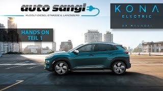 Hyundai Kona Elektro Teil 1: Laden & Co. / Kona Electric: Charging & Co.
