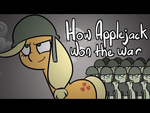 How Applejack Won the War - Animation