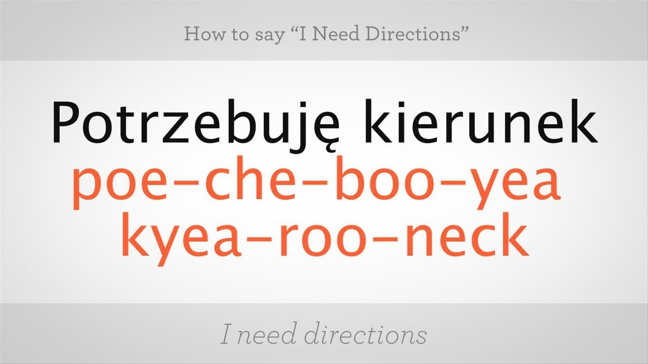 how to say welcome in polish