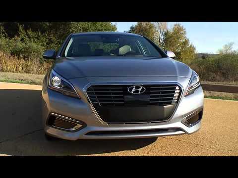 2016 Hyundai Sonata Plug In Hybrid Electric Vehicle