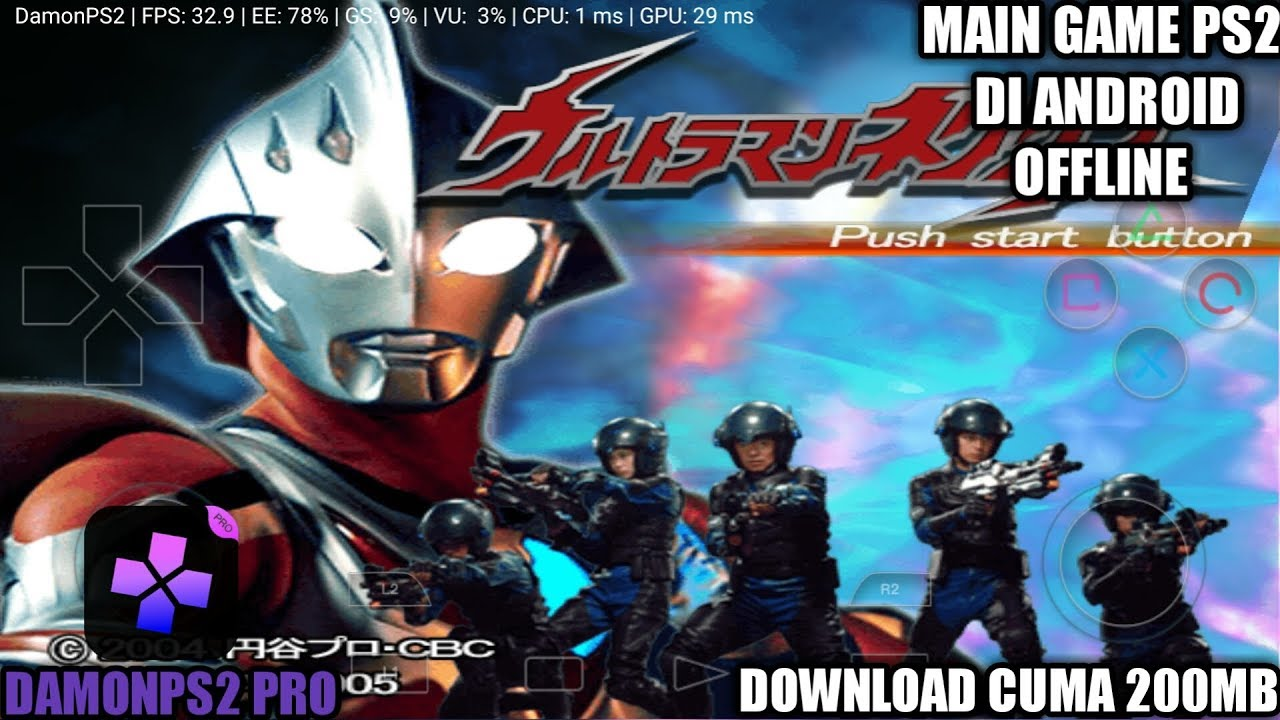 Ultraman emulator