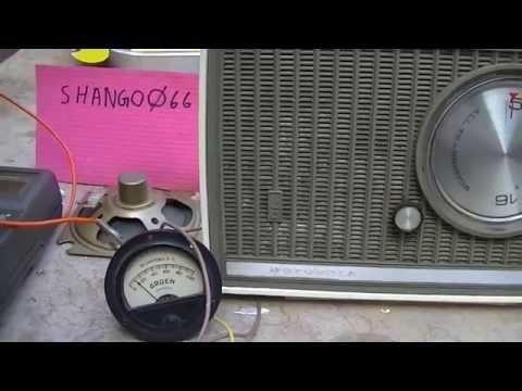 Motorola AX5N AM Transistor Radio Repair