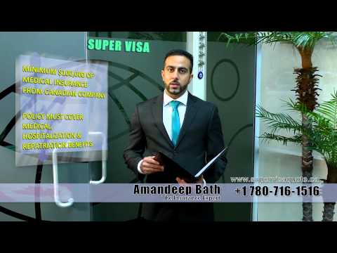 Super Visa Insurance Agency in Edmonton - Best rates for 2017