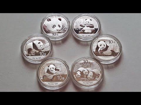 🐼 Chinese Panda 1oz & 30 Gram Silver Bullion Coins 🐼