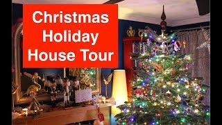 Christmas House Tour - Nutcracker Mantelpiece - Holiday Decor Home Tour