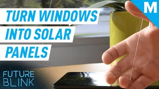How To Turn Your Windows Into Solar Panels   Future Blink