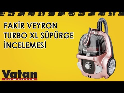 Fakir Veyron Turbo XL Süpürge İncelemesi