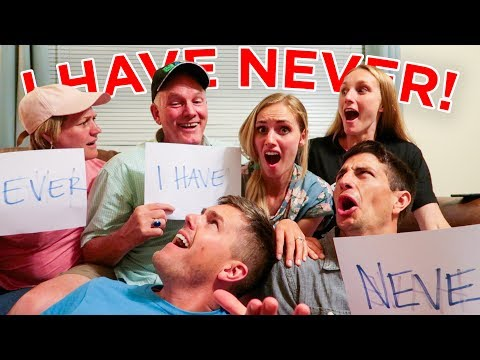 NEVER HAVE I EVER CHALLENGE! With Mom and Dad?! ROUND 2! (Ellie and Jared)