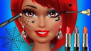 Fun Girls Halloween Makeup Beauty Salon Makeover Costume Dress UP Kids & Girls Games