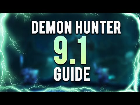 9.1.0 Demon Hunter PvP Shadowlands Guide   by TrenacetateTV
