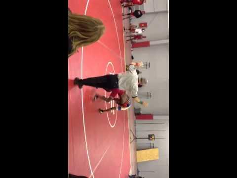 Jordan Norwood Wrestling Match 2