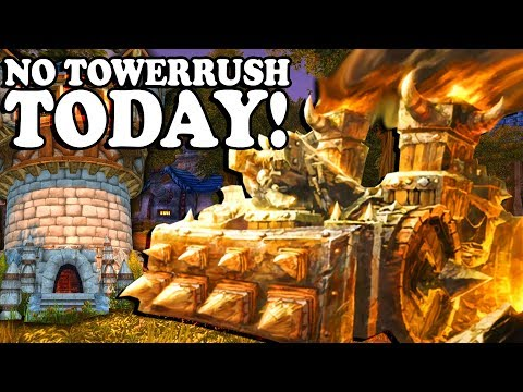 "Grubby | ""NO TOWERRUSH TODAY"" 