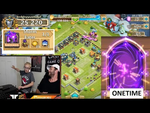 JT And Bobby YOU WONT BELIEVE THIS SO LUCKY Castle Clash