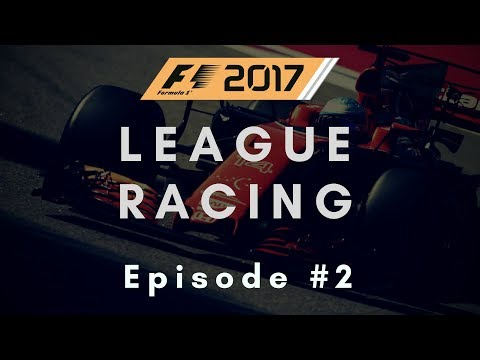 F1 2017 League Racing #2