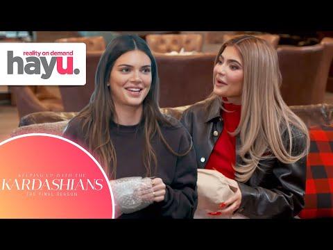 Kendall & Kylie's Secret Santa Gifting | Season 20 | Keeping Up With The Kardashians