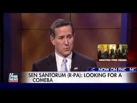 Rick Santorum banking on Iowa comeback