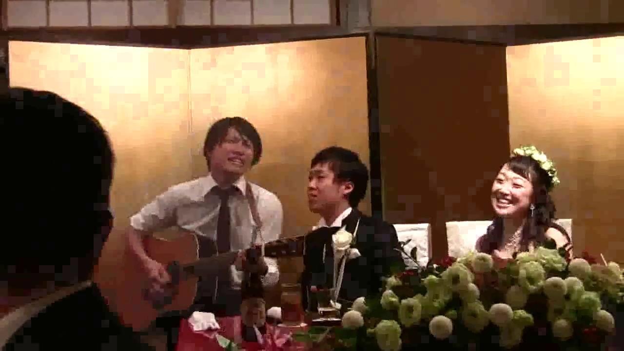 Human人間あきお スピッツ 運命の人 Bassistの結婚式余興 弾き語り
