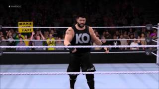 WWE 2K16: Kevin Owens Entrance/Signature/Finisher (New Attire)