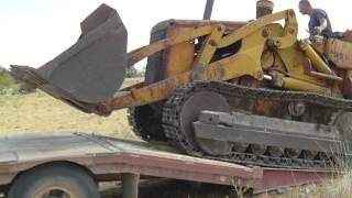 8300 IH Truck & 955H Track Loader
