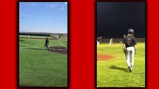Mexia Baseball #10 Zac Klosterman Highlights(Cedar Valley College Commit)