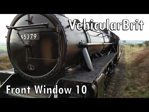 """The Front Window 10 - LMS Black 5 45379 - The best """"Black Five"""" sound on record?"""