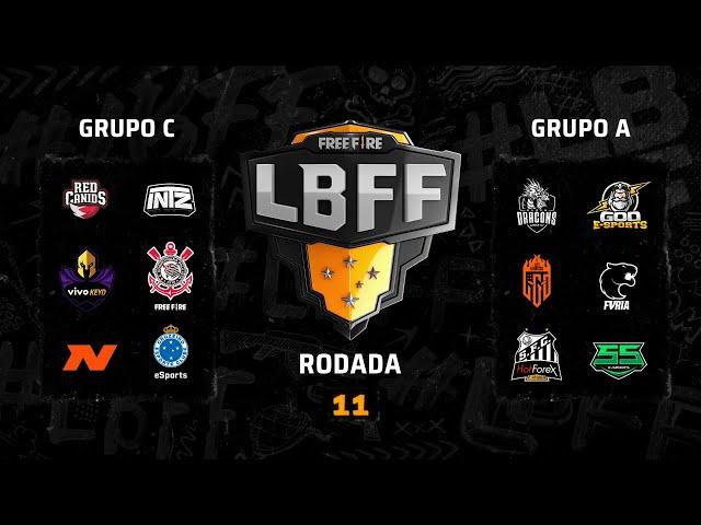 LBFF - Rodada 11 - Grupos C e A | Free Fire