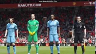 FIFA 15 Gameplay-Manchester United V/S Manchester City PC