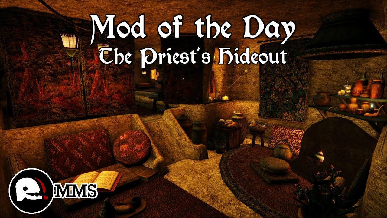 Morrowind Mod of the Day EP34 - The Priest's Hideout House Mod Showcase