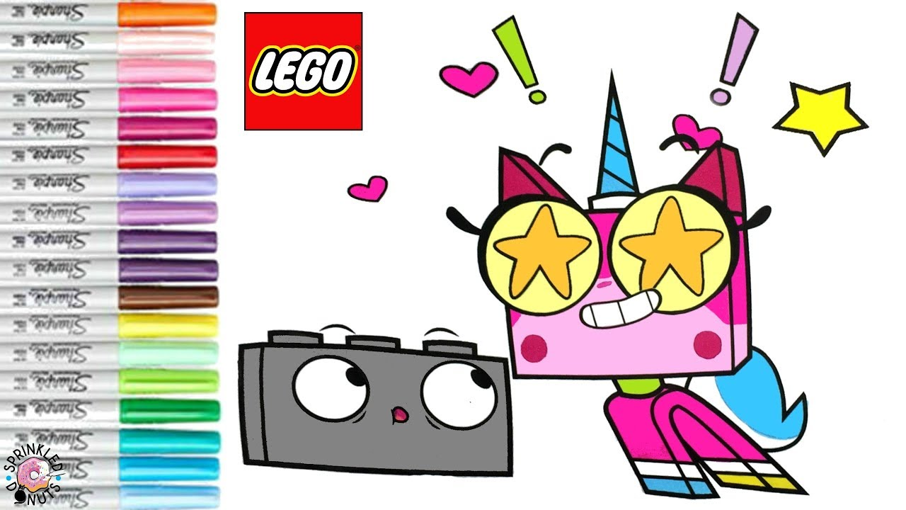 Unikitty Coloring Book Page Unikitty