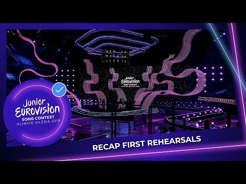 OFFICIAL RECAP - First Rehearsals - Junior Eurovision 2019