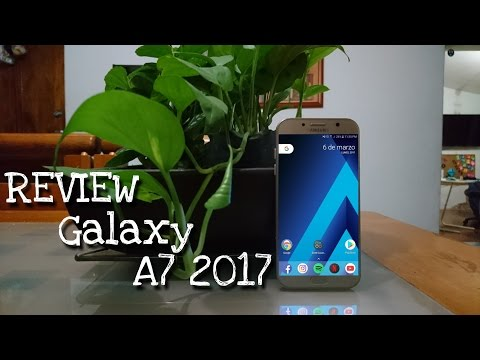 Samsung Galaxy A7 2017 | Review completa en español | FullHD