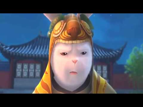 Desenho Animado Kungfu Rabbit Rajzfilm Cartoon Movie