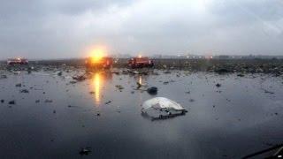 فرضيات سقوط طائرة فلاي دبي في روسيا