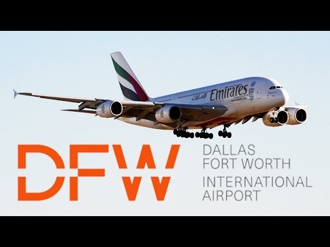 5 Minutes of Plane Spotting in Dallas/Fort Worth International Airport (DFW)