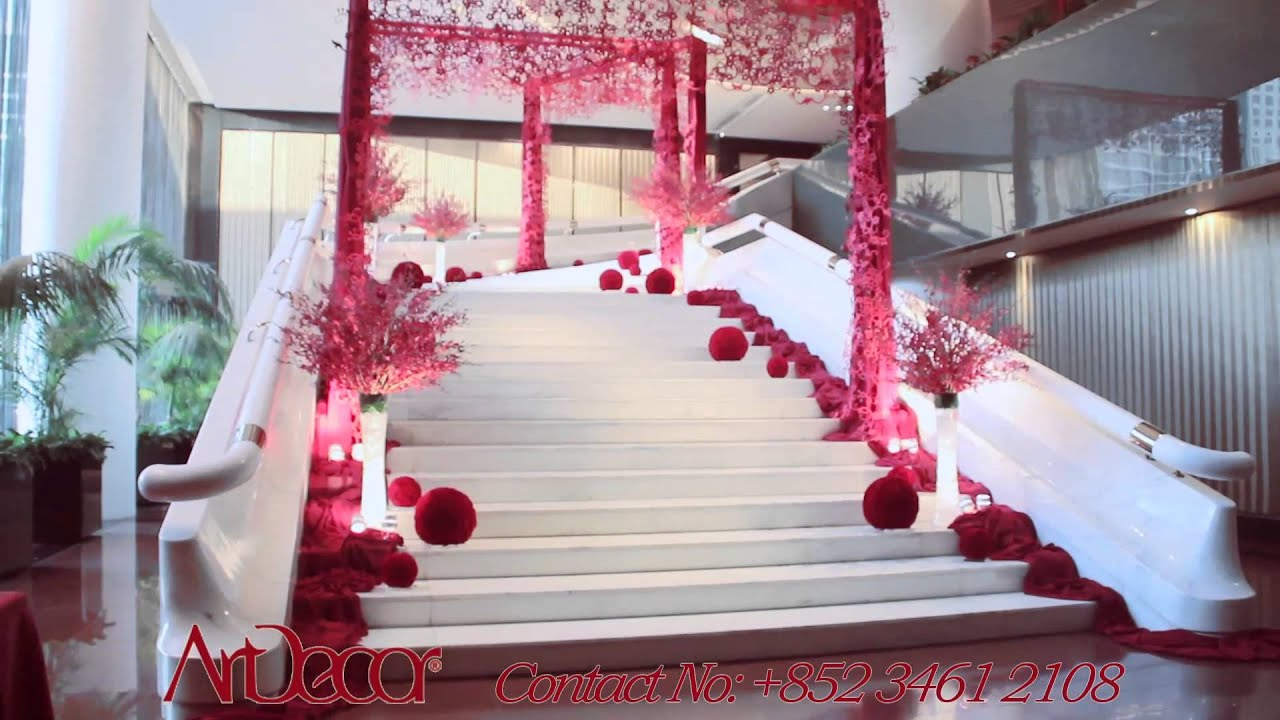 Artdecor intercontinental hong kong hotel wedding showcase youtube junglespirit Choice Image