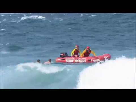 Rescue at Bronte Beach - Filmed by Cora Bezemer
