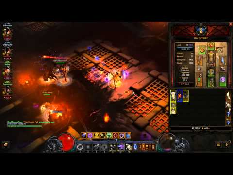 Diablo 3 ROS 10 million gold per hour with Gold Find Gear 7587%