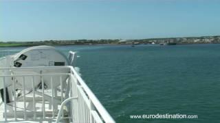 Holyhead to Dublin Port on Irish Ferries' Dublin Swift
