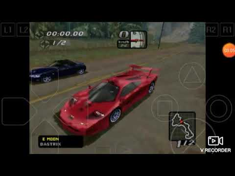 Need For Speed High Stakes Race McLaren GRT F1