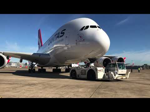 Qantas: Engine Run Test
