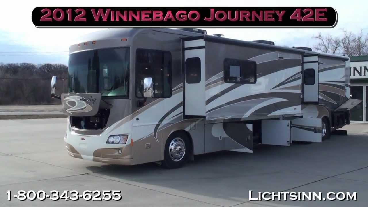 Lichtsinn com - 2012 Winnebago Journey 42E Motor Home Class A - Diesel