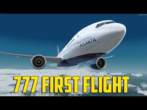 777 First Flight (Prepar3d V4)