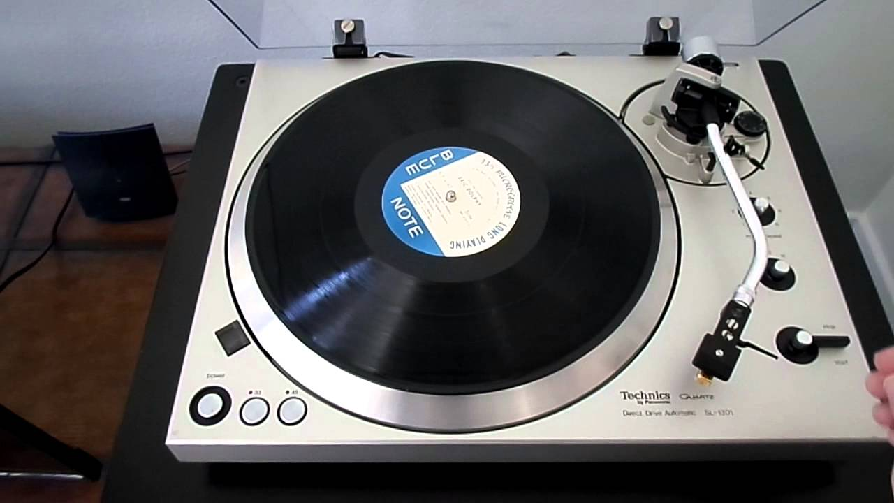 Techincs Sl 1301 Fully Automatic Turntable 1977