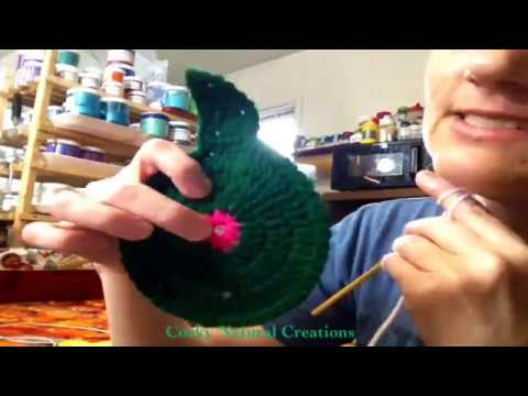 How to crochet a Duck or Chick butt coaster!!